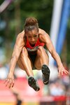 Nafissatou Thiam Belgium IAAF Combined Events Heptathlon 2015 Mounts