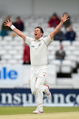 Trent Boult New Zealand v England Headingley 2015