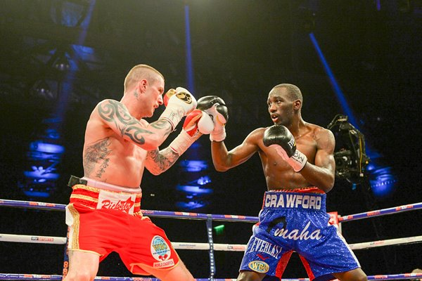 Ricky Burns v Terence Crawford WBO World Lightweight Glasgow 2014