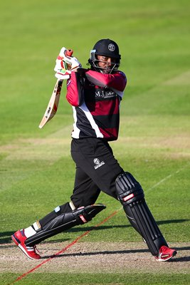 Chris Gayle Somerset v Hampshire 2015