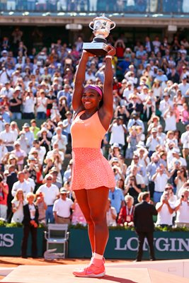 2015 Serena Williams French Open