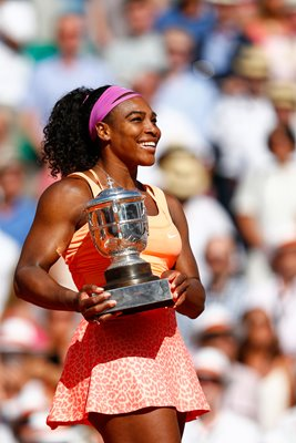 2015 Serena Williams Wins French Open