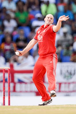James Tredwell England v West Indies Antigua 2014