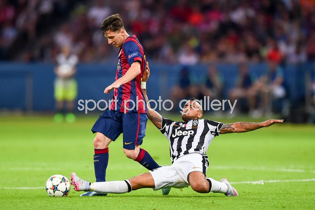 Lionel Messi Barcelona 2015 Champions League Final
