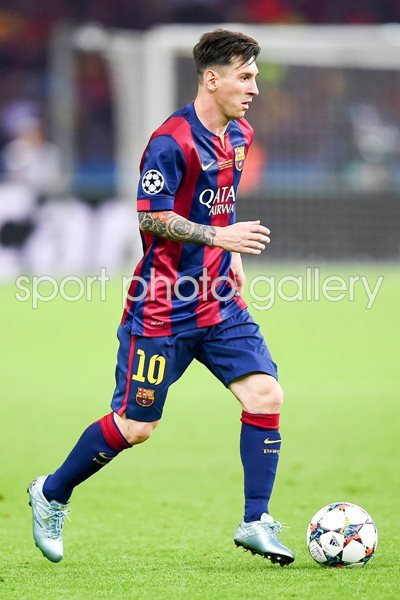 Champions League 2015 Photo | Football Posters | Lionel Messi