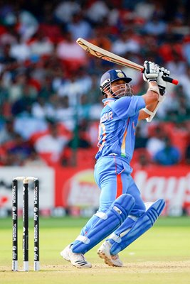 Sachin Tendulkar World Cup action 2011