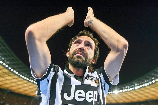 Andrea Pirlo Juventus in tears
