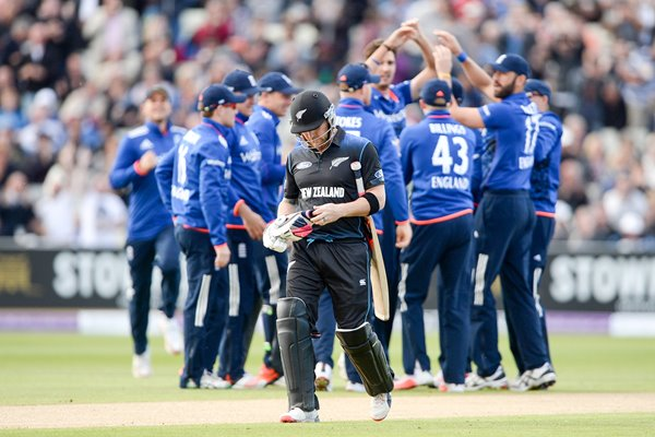 Brendon McCullum New Zealand v England ODI Edgbaston 2015