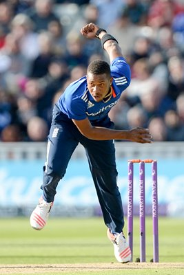 Chris Jordan England v New Zealand ODI Edgbaston 2015