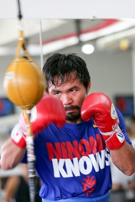 Manny Pacquiao Training Session General Santos, Philippines 2014