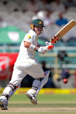 David Warner Australia v South Africa Cape Town 2014