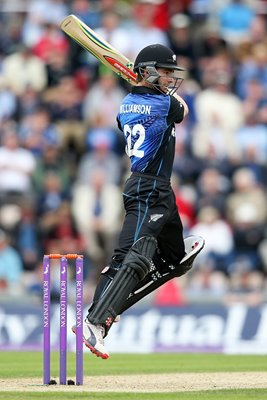 Kane Williamson New Zealand v England Southampton 2015