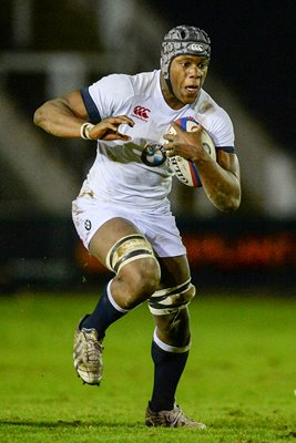 Maro Itoje England v Wales U20 Six Nations 2014