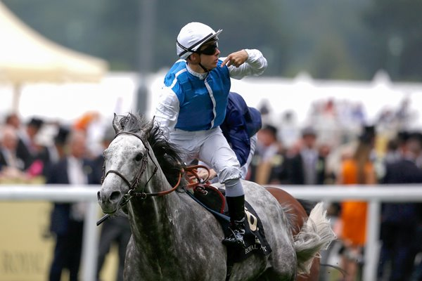 Maxime Guyon & Solow Royal Ascot 2015