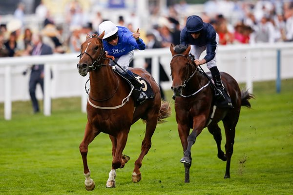 William Buick & Buratino Royal Ascot 2015