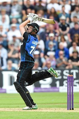 Mitchell Santner New Zealand v England 4th ODI Trent Bridge 2015