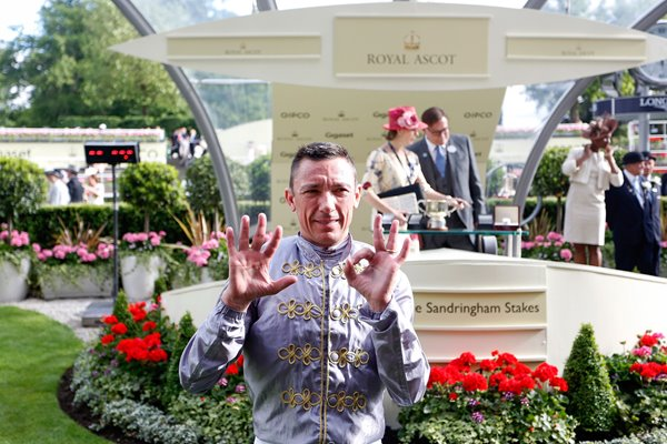 Frankie Dettori 50th win Royal Ascot 2015