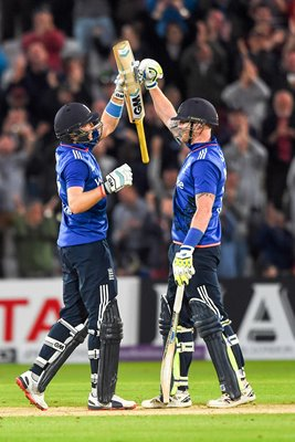 2015 Joe Root & Ben Stokes England v New Zealand