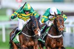 Barry Geraghty on Jezki win Champion Hurdle Cheltenham 2014 Prints