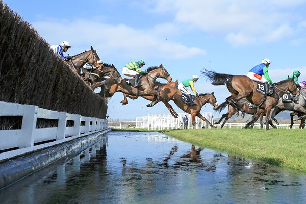 Water Jump Cheltenham Festival Champion Day 2014