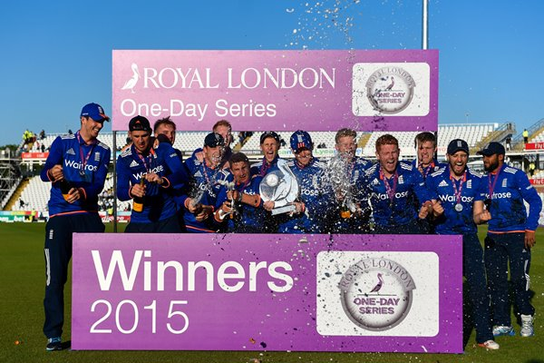 2015 England ODI Series winners v New Zealand