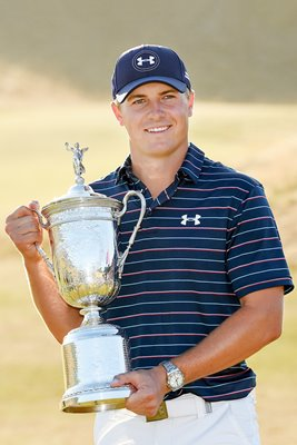 2015 US Open Champion Jordan Spieth Chambers Bay
