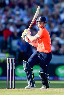 Ben Stokes England v New Zealand T20 Old Trafford 2015