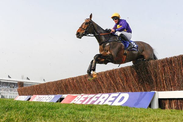 Davy Russell Lord Windermere Cheltenham Gold Cup 2014