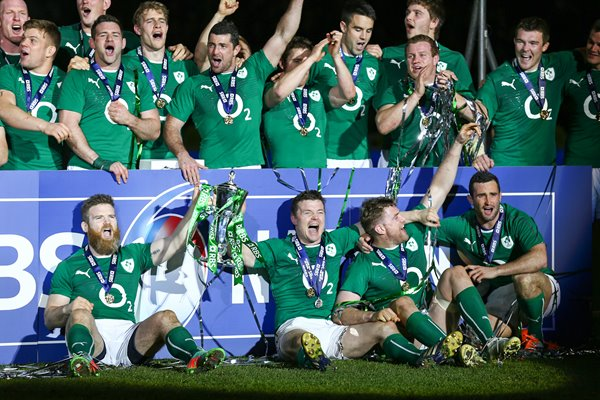 Ireland Six Nations Champions Paris 2014