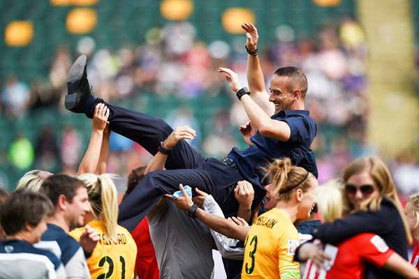Mark Sampson England: Third Place Play-off
