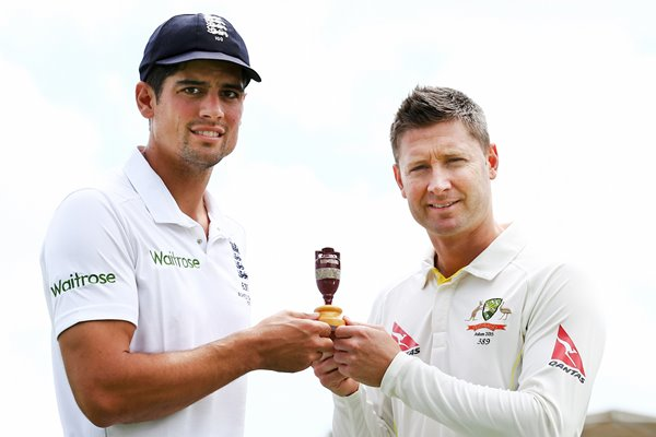 Alastair Cook & Michael Clarke Ashes 2015