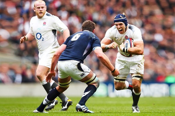 James Haskell England 6 Nations 2011