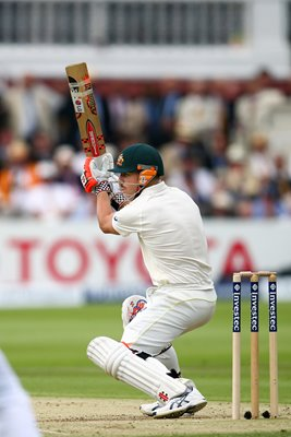David Warner Australia v England Lords 2015