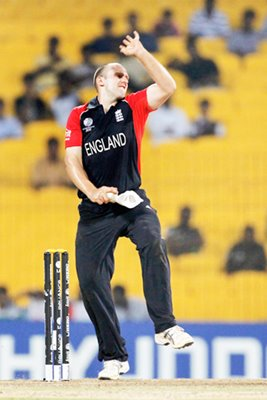 James Tredwell of England World Cup
