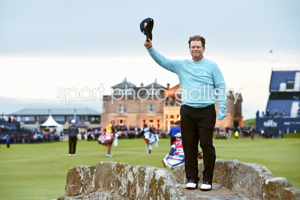 2015 Tom Watson Open Farewell Swilken Bridge