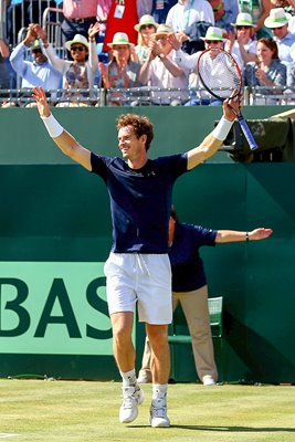 Andy Murray Great Britain v France 2015