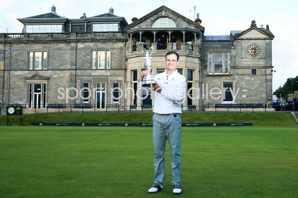 2015 Zach Johnson British Open Champion