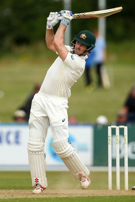 Shaun Marsh of Australia v Derbyshire Ashes Tour 2015