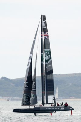 Land Rover BAR America's Cup Portsmouth England 2015