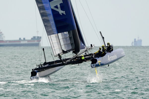 Team Artemis America's Cup World Series Portsmouth England 2015