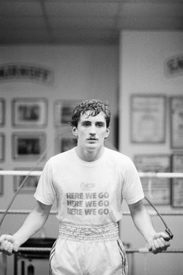 Barry McGuigan Gym Training 1985