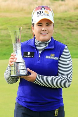 Inbee Park Women's British Open Champion Turnberry 2015