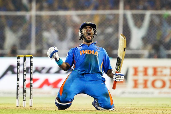 Yuvraj Singh World Cup 1/4 Final