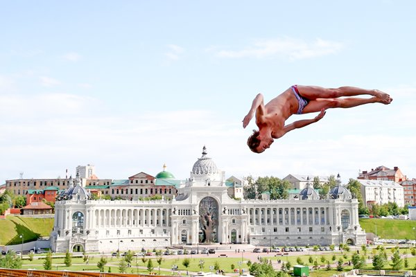 Gary Hunt Great Britain High Diving World Championships 2015