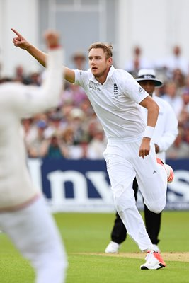 Stuart Broad 300th Test Wicket Nottingham Ashes 2015