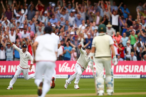Ben Stokes England Catch Trent Bridge Ashes 2015