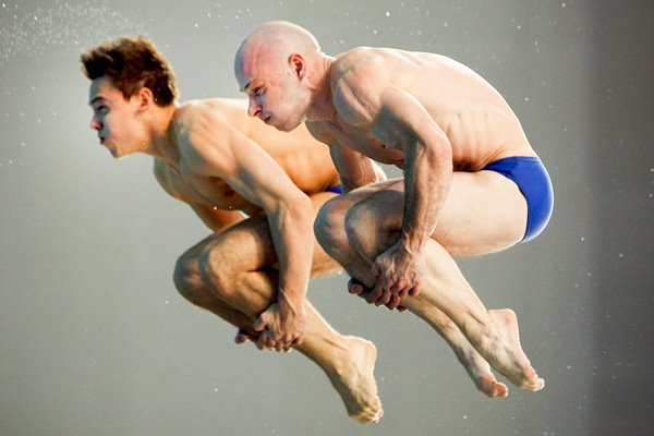 Tom Daley and Peter Waterfield Great Britain