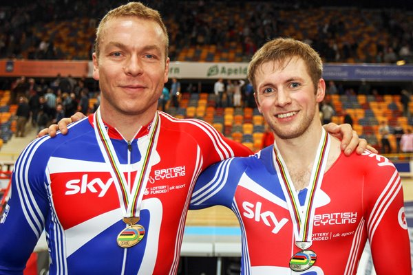 Sir Chris Hoy and Jason Kenny Worlds 2011