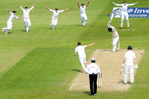 Ashes 2015 Moment of Victory Wood bowls Lyon