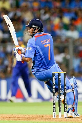 MS Dhoni India World Cup Final
